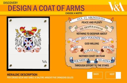 coat arms V&A